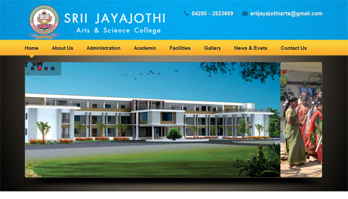 Srii Jayajothi Arts & science